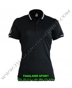 เสื้อ POLO กีฬา อีโก้ EGO SPORT รุ่น EG 6148 (สีดำ) WOMEN