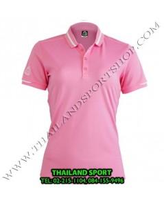 เสื้อ POLO กีฬา อีโก้ EGO SPORT รุ่น EG 6148 (สีชมพู) WOMEN