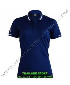 เสื้อ POLO กีฬา อีโก้ EGO SPORT รุ่น EG 6148 (สีกรม) WOMEN