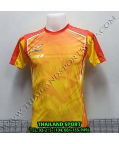 เสื้อกีฬา ซิวเวอร์ ZERLVER SPORT รหัส A5015 (สีเหลือง YO) พิมพ์ลาย