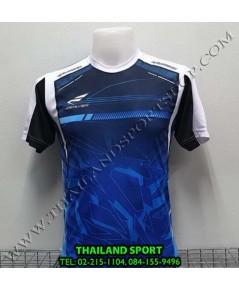 เสื้อกีฬา ซิวเวอร์ ZERLVER SPORT รหัส A5015 (สีน้ำเงิน BW) พิมพ์ลาย