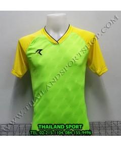 เสื้อกีฬา เรียล REAL รุ่น RAX-012 (สีเขียว GY) พิมพ์ลาย