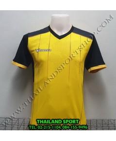 เสื้อกีฬา ยูเรก้า EUREKA รุ่น A5033 (สีเหลือง YA) พิมพ์ลาย