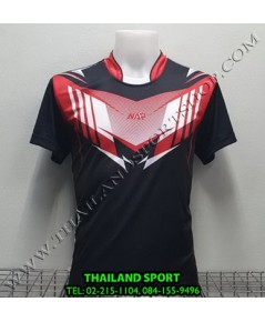 เสื้อกีฬา NAP SPORT รุ่น 16 (สีดำ) พิมพ์ลาย