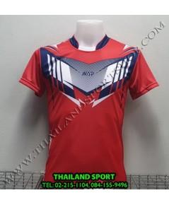 เสื้อกีฬา NAP SPORT รุ่น 16 (สีแดง) พิมพ์ลาย