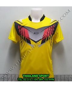 เสื้อกีฬา NAP SPORT รุ่น 16 (สีเหลือง) พิมพ์ลาย
