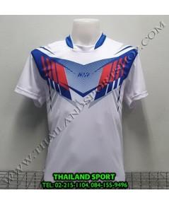 เสื้อกีฬา NAP SPORT รุ่น 16 (สีขาว) พิมพ์ลาย