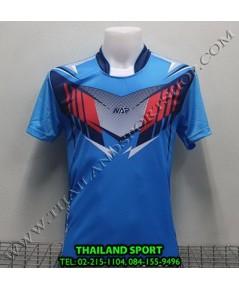 เสื้อกีฬา NAP SPORT รุ่น 16 (สีฟ้า) พิมพ์ลาย