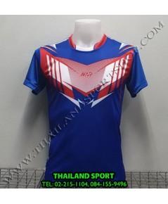 เสื้อกีฬา NAP SPORT รุ่น 16 (สีน้ำเงิน) พิมพ์ลาย