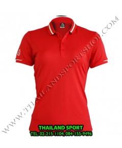 เสื้อ POLO SHIRT อีโก้ EGO SPORT รุ่น EG 6152 (สีแดง) WOMEN