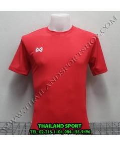 เสื้อกีฬา วอริค WARRIX รหัส WA 1559 (สีแดง RR)