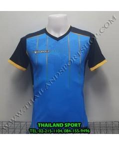 เสื้อกีฬา ยูเรก้า EUREKA รุ่น A5033 (สีฟ้า LA) พิมพ์ลาย