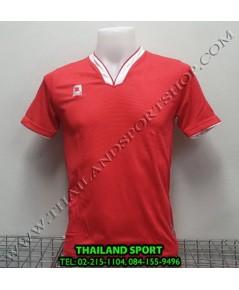 เสื้อกีฬา ออฟชั่น OPTION รุ่น OPA1001 (สีแดง RW)