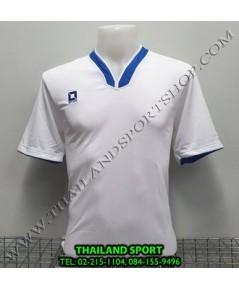 เสื้อกีฬา ออฟชั่น OPTION รุ่น OPA1001 (สีขาว/น้ำเงิน WB)