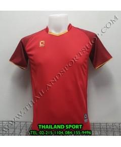เสื้อกีฬา ออฟชั่น OPTION รุ่น OPA1002 (สีแดง RR)
