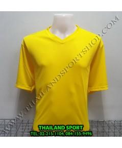 เสื้อกีฬาสี สีล้วน MATADOR MD-101 (สีเหลือง)