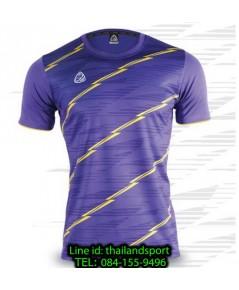 เสื้อ อีโก้ ego sport รหัส eg-5130 (สีม่วง) พิมพ์ลาย