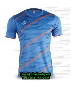 เสื้อ อีโก้ ego sport รหัส eg-5130 (สีฟ้า) พิมพ์ลาย