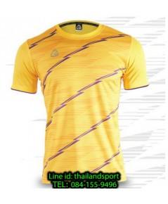 เสื้อ อีโก้ ego sport รหัส eg-5130 (สีเหลือง) พิมพ์ลาย