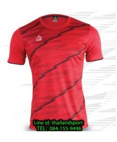 เสื้อ อีโก้ ego sport รหัส eg-5130 (สีแดง) พิมพ์ลาย