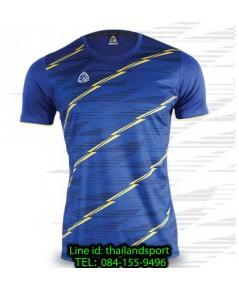 เสื้อ อีโก้ ego sport รหัส eg-5130 (สีน้ำเงิน) พิมพ์ลาย