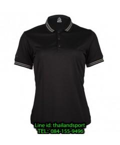 เสื้อโปโลกีฬา polo sport อีโก้ ego sport รุ่น eg 6164 (สีดำ) women