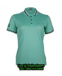 เสื้อโปโลกีฬา polo sport อีโก้ ego sport รุ่น eg 6164 (สีเขียวพาร์คกรีน) women