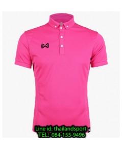 เสื้อโปโลกีฬา polo วอริกซ์ warrix รุ่น wa-3315n (สีชมพู pp)