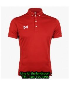 เสื้อโปโลกีฬา polo วอริกซ์ warrix รุ่น wa-3315n (สีแดงเข้ม rt)