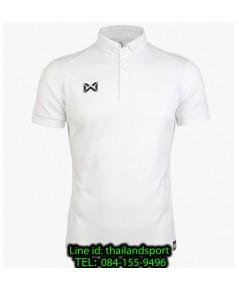 เสื้อโปโลกีฬา polo วอริกซ์ warrix รุ่น wa-3315n (สีขาว ww)