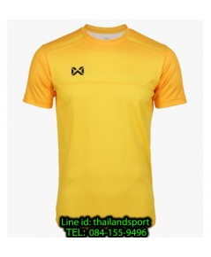 เสื้อกีฬา วอริกซ์ warrix รหัส wa-211fbacl04 (สีเหลือง yy) พิมพ์ลาย