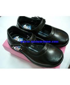 รองเท้านักเรียนเด็กเล็ก (หญิง) POPTEEN เบอร์ 24,25,26