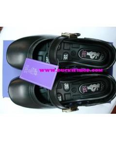 รองเท้านักเรียนเด็กโต (หญิง) CATSHA เบอร์ 35 - 41 แบบตัวล็อก