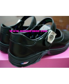 รองเท้านักเรียนเด็กโต (หญิง) POPTEEN เบอร์ 30 - 34 แบบตัวล็อก