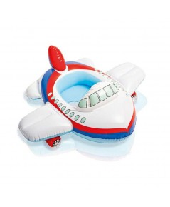 ห่วงยางว่ายน้ำสอดขา KIDDLE FLOAT ลาย เครื่องบิน by INTEX