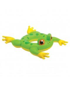 ห่วงยางเด็กเล็ก INTEX สำหรับ 3-6 ขวบ รุ่น Deluxe swimming Animal Ring ลาย ZooZoo กบ สีเขียว