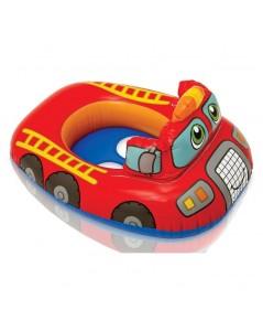 ห่วงยางว่ายน้ำสอดขา KIDDLE FLOAT ลาย รถดับเพลิง by INTEX