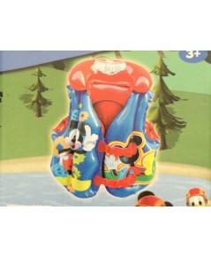เสื้อห่วงยางลอยตัว Swim Vest Trainer (สำหรับเด็กวัย 3 ขวบขึ้นไป) ขนาด 51x46cm. ลายการ์ตูน MickyMouse