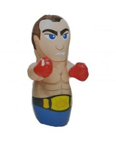 ตุ๊กตาล้มลุก Kid Boxing Doll ลายนักมวยถอดเสื้อ (ฐานน้ำ ต้องเติมน้ำก่อนเป่าลม)