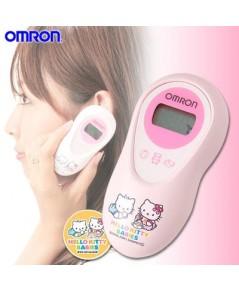 เครื่องวัดอุณหภูมิดิจิตอลอินฟราเรด วัดไข้ ชนิดวัดทางหู Omron รุ่น Hello Kitty Babies