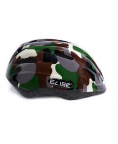 หมวกกันน๊อคเด็ก สำหรับใส่ป้องกันศรีษะเด็ก (ลายทหาร เขียว) แบรนด์ ELISE KID