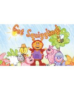 Get Squiggling v2d 4 แผ่น