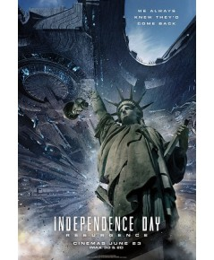 Independence Day 2: Resurgence ไอดี 4 สงครามใหม่วันบดโลก