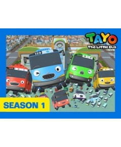 Tayo The Little Bus Season 1 Set 2 Disc.