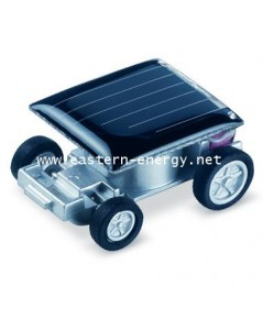รถจิ๋วพลังงานแสงอาทิตย์ ขนาดเล็กที่สุดในโลก Smallest Solar Racing Car Toy