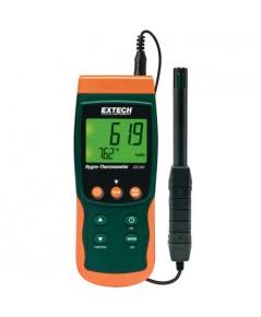 เครื่องบันทึกอุณหภูมิ ความชื้น Hygro-Thermometer/Datalogger บันทึกผ่าน SD CARD รุ่น SDL500