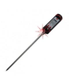 เครื่องวัดอุณหภูมิในอาหาร ของเหลว เนื้อสัตว์ ผลไม้ Thermometer รุ่น DT801