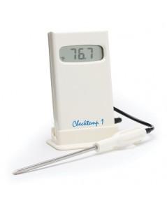 เครื่องวัดอุณหภูมิในอาหาร ของเหลว เนื้อสัตว์ ผลไม้ Checktemp®1C Pocket Thermometer รุ่น HI 98509