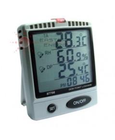 เครื่องบันทึกอุณหภูมิความชื้น Temp/Humidity/Dew Point SD card Logger รุ่น 87798