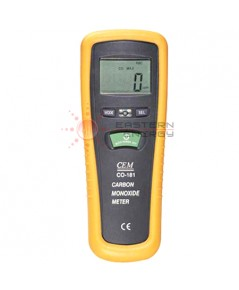 Cabon Monoxide meter เครื่องวัดก็าซคาร์บอนมอนนอกไซด์ บันทึกค่า รุ่น CO-181